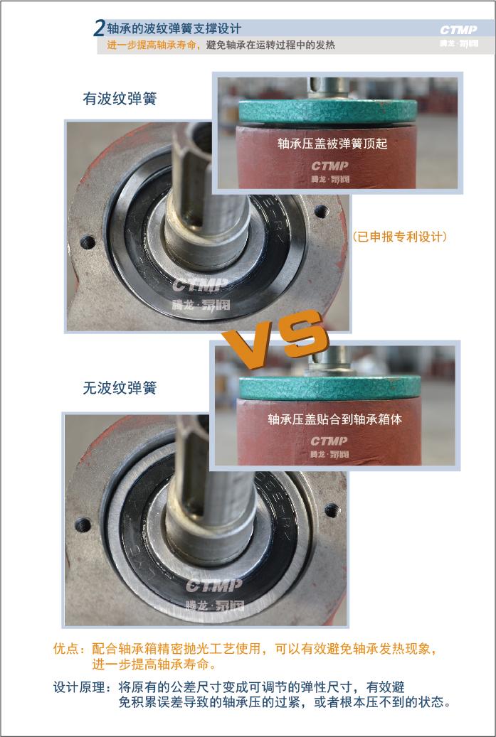 氟塑料离心泵轴承