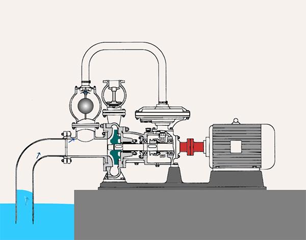 氟塑料离心泵工作原理