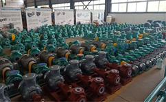 腾龙泵阀衬氟泵生产流程和零件组成