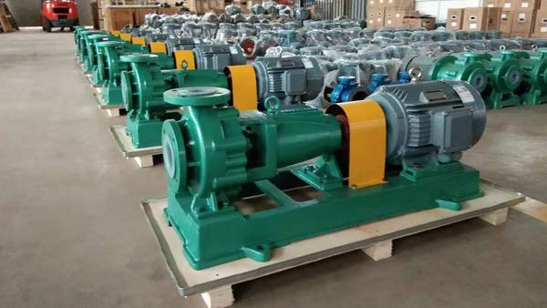 氟塑料离心泵安装吸入高度和气蚀产生