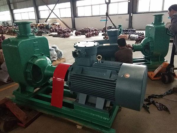 发往江西上饶的一批不锈钢管道泵和不锈钢自吸泵_腾龙泵阀