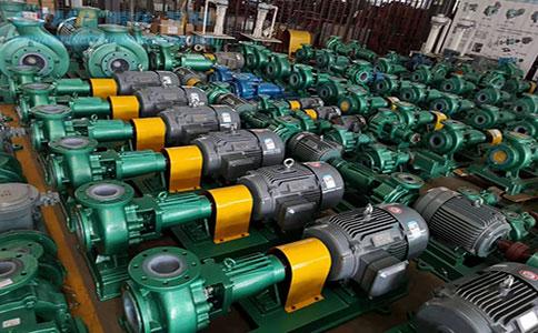 一批IHF50-32-250氟合金离心泵发往青海西矿同鑫化工有限公司