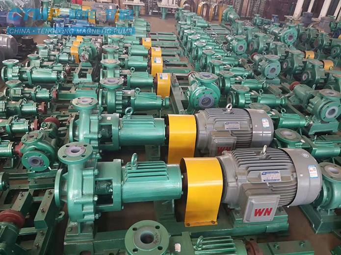 腾龙IHF100-80-160氟塑料离心泵发往万华化学
