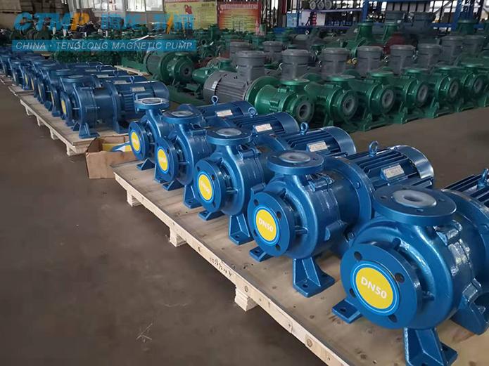腾龙CQB50-32-160衬氟磁力泵出口马来西亚