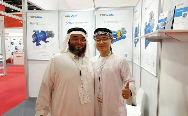 腾龙泵阀2019年迪拜水处理展环保展WETEX