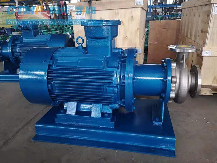 腾龙CQB100-80-160不锈钢离心泵发往恒瑞医药