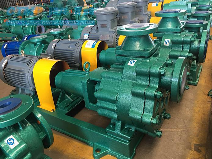 腾龙50FZB-30衬氟自吸离心泵发往华泰集团