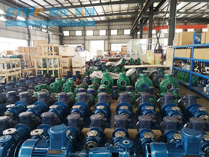 腾龙一批化工磁力泵发往陕西煤化