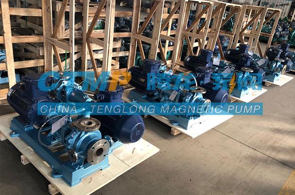 腾龙IR高保温不锈钢离心泵出口马来西亚