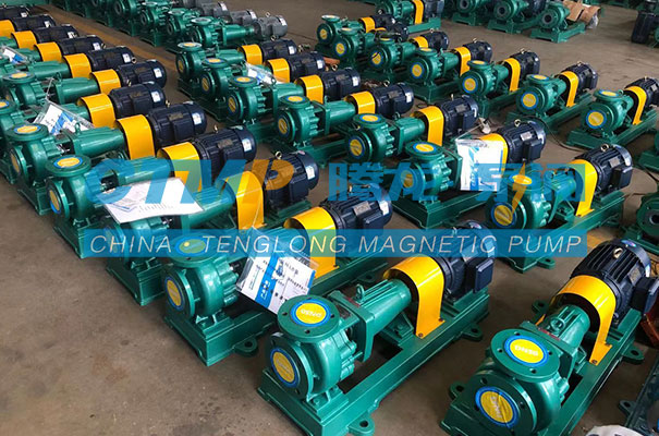 腾龙60台IHF氟塑料离心泵发往英科医疗