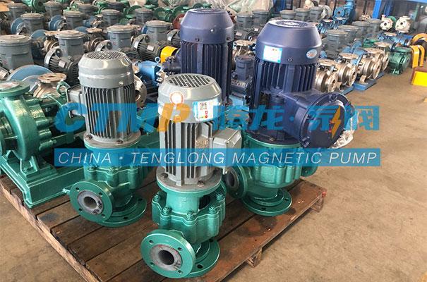 腾龙GDF氟塑料管道泵发往常州江南环境