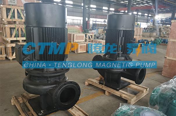 腾龙一批立式管道泵发往内蒙古百灵科技