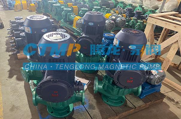 腾龙一批GD-F立式管道泵发往青岛欧嘉