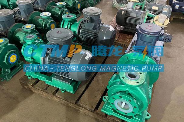 腾龙TMF氟塑料磁力泵发往西安迪奥环保