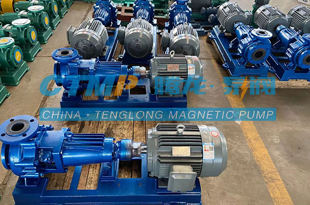 腾龙一批IHF氟塑料离心泵出口马来西亚