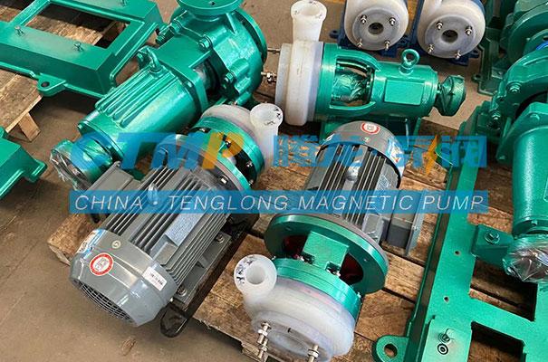 腾龙FSB-D氟合金离心泵发往广东金发科技