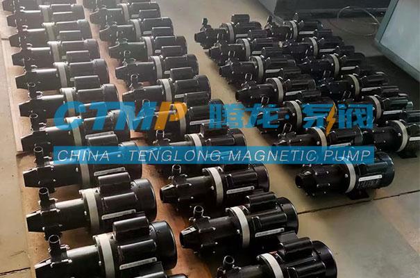 腾龙一批注塑磁力泵出口马来西亚