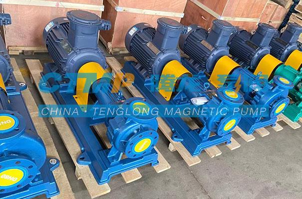 腾龙IHF氟塑料离心泵发往贵州开阳化工