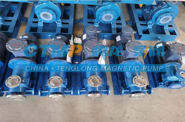 腾龙混酸输送泵发往四川中工天元能源科技