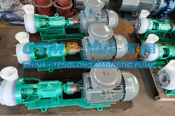 腾龙FSB-L氟塑料合金离心泵发往苏州国清环境科技