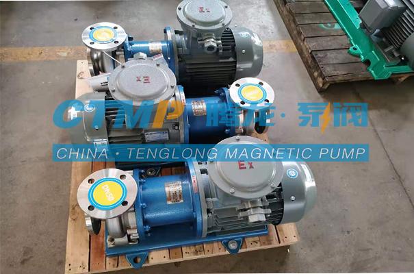 腾龙TMC-P 不锈钢磁力泵发往厦门思锐达科技