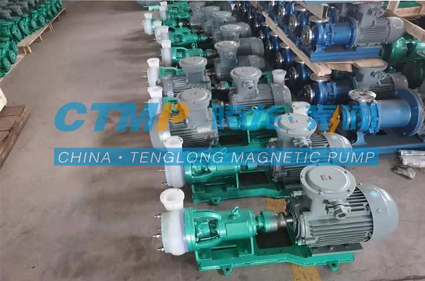 腾龙FSB-L氟塑料合金离心泵发往常州江环能源科技