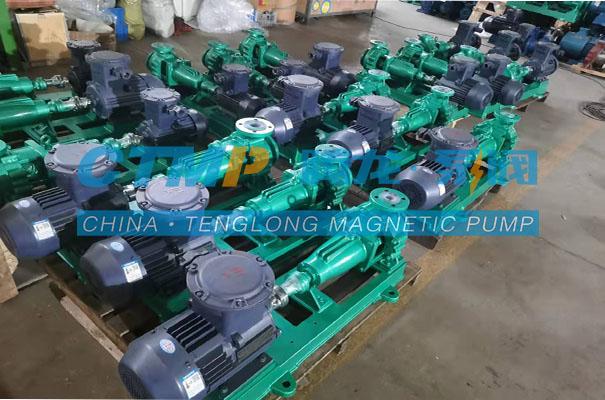 腾龙IHF-L氟塑料离心泵发往福州新柯昱电子科技
