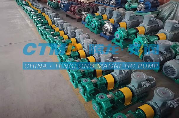腾龙34台衬氟离心泵发往北京鑫燊伟业环保科技