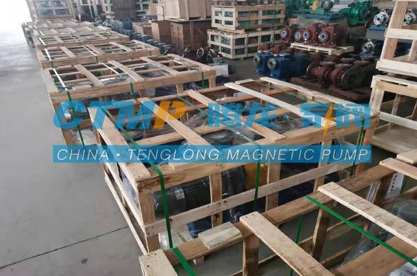 腾龙22台冷凝水收集泵发往江苏碧诺环保科技