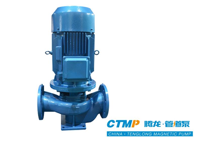 ISG立式管道泵