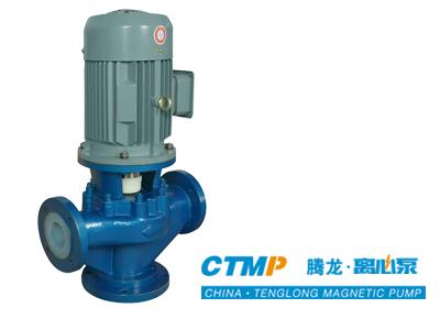 氟塑料立式管道泵